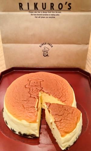 神戸店お客様R、リクローの焼きたてチーズケーキ (2)